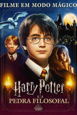 Harry Potter e a Pedra Filosofal: Filme em Modo Mágico - Arte principal