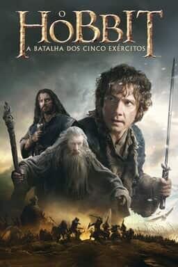 O Hobbit: A Batalha dos Cinco Exércitos - Arte principal