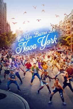 Em Um Bairro de Nova York - Arte principal
