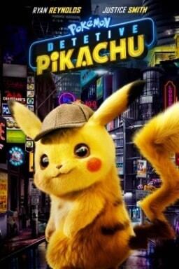 Pokémon: Detetive Pikachu - Arte principal