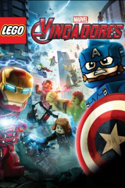 LEGO Marvel Vingadores - Arte principal