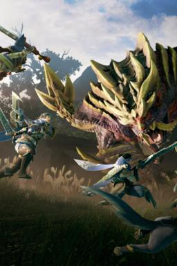 Monster Hunter Rise - Arte principal