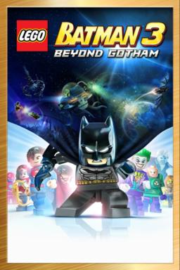 LEGO BATMAN 3: BEYOND GOTHAM DELUXE - Arte principal