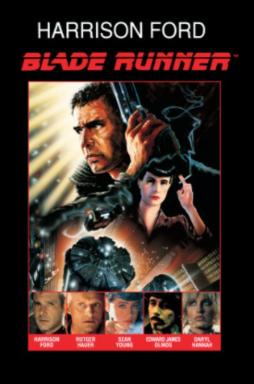 Blade Runner, O Caçador de Andróides - Arte principal