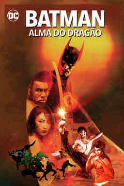 Batman: Alma do Dragão - Arte principal